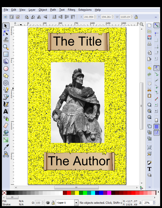 Inkscape Finished eBook Cover