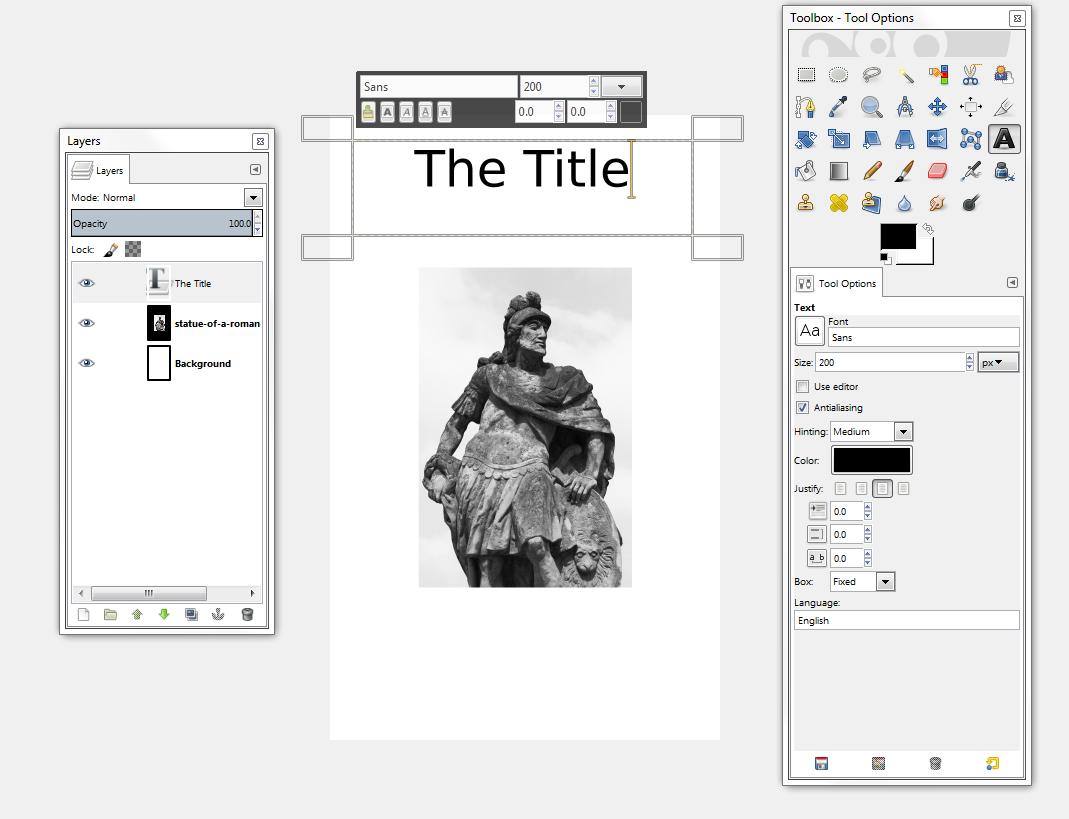 Book Cover Design Using Gimp ~ Ebook cover tutorial using gimp keith keffer